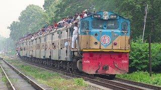 Crowded Eid Festival Train- Jamuna Express Train of Bangladesh Railway
