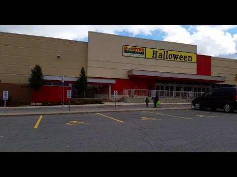 Exploring Abandoned Target Store Used As Halloween Shop