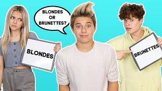 Who knows me better challenge? CRUSH vs. BROTHER  | Gavin Magnus ft. Coco Quinn