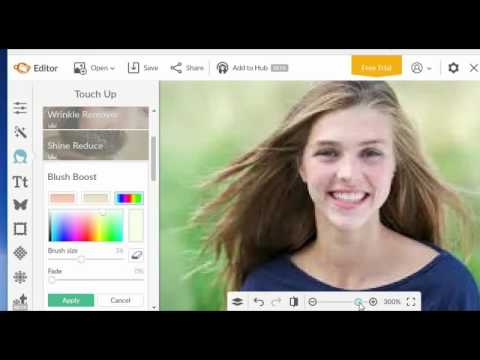 How to change the Background color on a photo using Pic Monkey