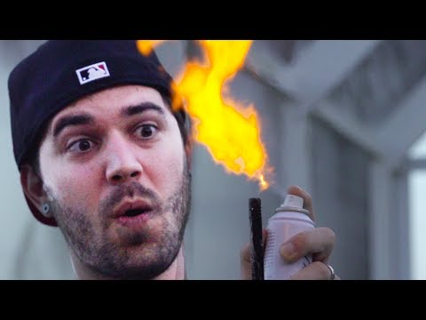 HOMEMADE FLAME THROWER! (11.6.13 - Day 1651)
