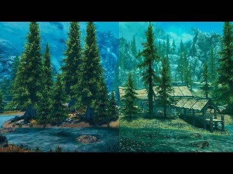 Skyrim Special Edition: Best Console Graphic Mods Vs. Vanilla