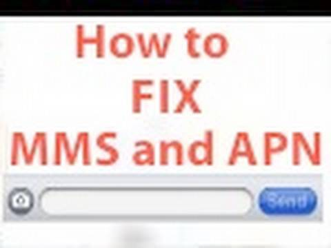 How to Fix MMS and APN on iOS 4 Jailbreak