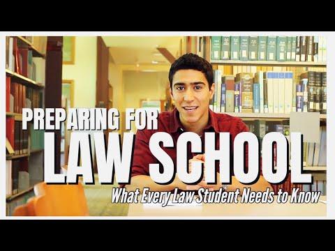 Preparing for Law School-
