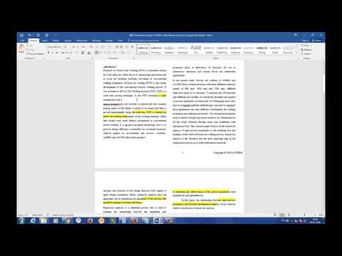 how to remove Stubborn highlight from the word document