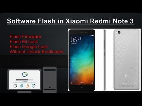 Unlock bootloader/Bypass Mi Account/ Firmware Upgrade in Mi Note 3