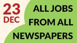 Pakistan Newspaper Jobs 23 December
