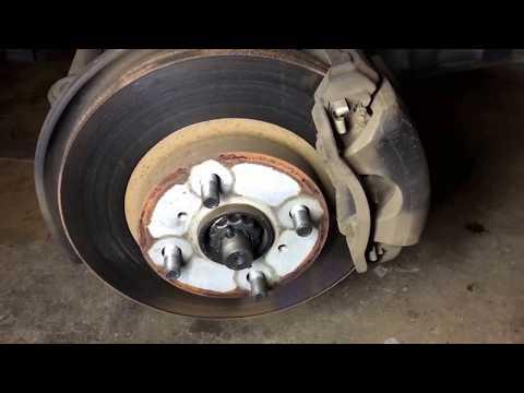 93-97 Geo Prizm/Toyota Corolla Brake Rotor Replacement Tutorial