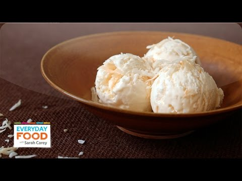 No-Churn Coconut Ice Cream | Domestic Geek x Everyday Food Collab! - Everyday Food with Sarah Carey