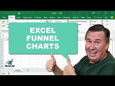 Learn Excel - Funnel Charts - Podcast1968