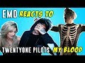 "Emo Reacts to Twenty One Pilots ""My Blood"" Music Video with Girlfriend"