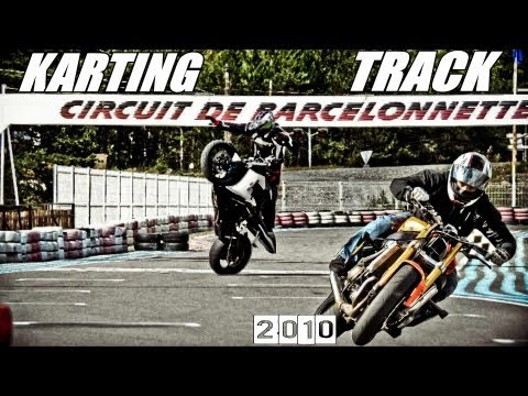 Drifting and Riding at the Karting Track - Barcelonnette - 2010