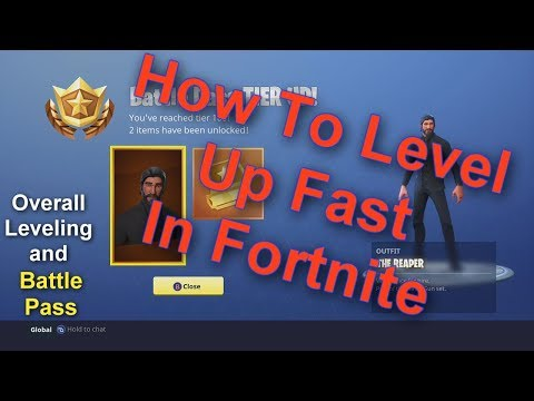 How To Level Up Fast In Fortnite | Battle Pass Tiers/Profile Level