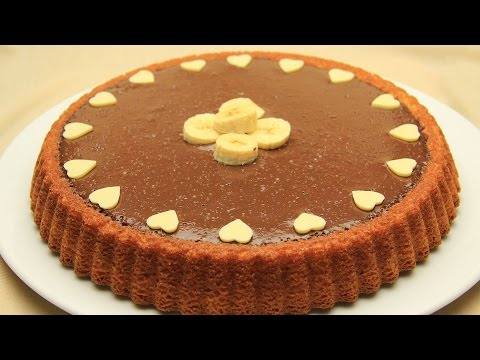 Chocolate Tart Cake Recipe - Easy Banana Pudding Cake