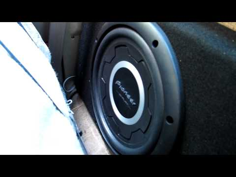 Pioneer Shallow Subwoofer Demo