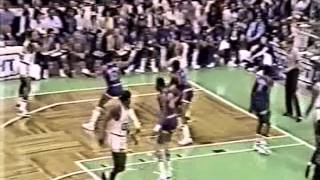 NBA Greatest Duos: Larry Bird & Kevin McHale vs New York Knicks (1984 ECSF Game 5)