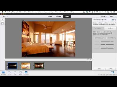 Photoshop Elements 12 Tutorial | Working In Photo-Merge