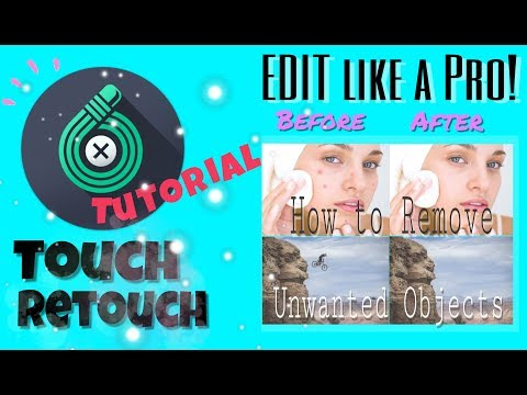 EASIEST WAY TO REMOVE OBJECT ON THE PHOTO (Tutorial Ft. Touch Retouch)