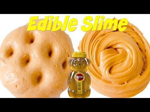 DIY Edible Slime Candy!! *SLIME YOU CAN EAT* EDIBLE SLIME Testing EDIBLE HONEY SLIME Recipe DIY