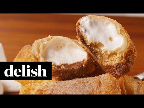 S'mores Egg Rolls | Delish