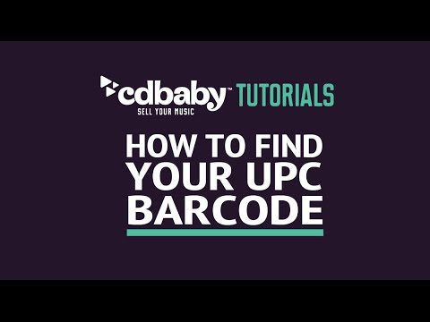How To Find Your UPC / Barcode!