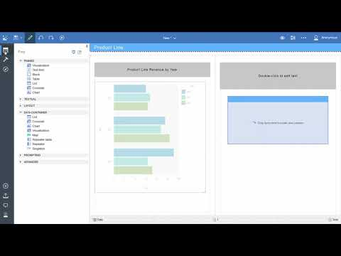 How to Create a Report (Basic) in IBM Cognos Analytics