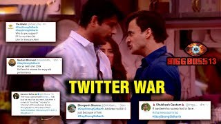 Siddharth Shukla And Asim Riaz's FIGHT | Fan WAR Trending On Twitter | Bigg Boss 13