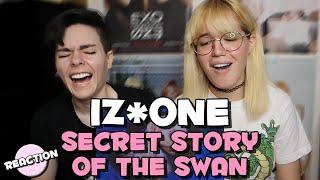 IZ*ONE (아이즈원) - SECRET STORY OF THE SWAN (환상동화) ★ MV REACTION