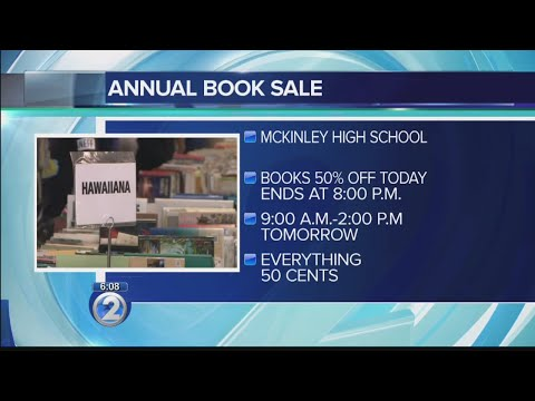 Annual book sale coming to a close