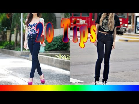 20 Style Tips On How To Wear High Waisted Jeans