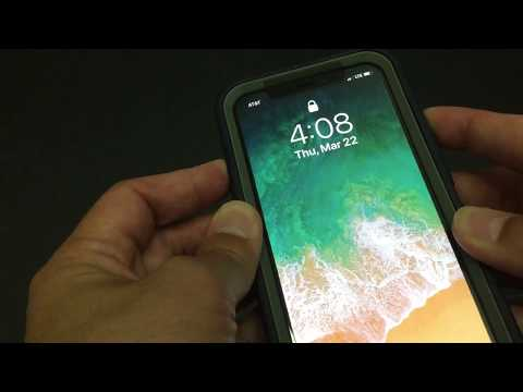 Apple iPhone X How to restart or soft reset your iPhone X and force restart