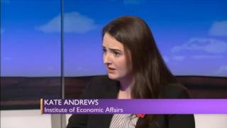 Unpaid internships: Martin Lewis schools r-wing think tanker Kate Andrews