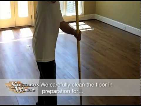 UV Cured Sandless Hardwood Refinishing