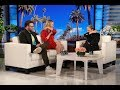Charlize Theron Shows Seth Rogen Ellen Her Make Out Tips