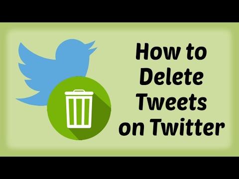 How to Delete Tweets on Twitter | Delete Tweets on Twitter | Remove Tweets on Twitter - Hindi