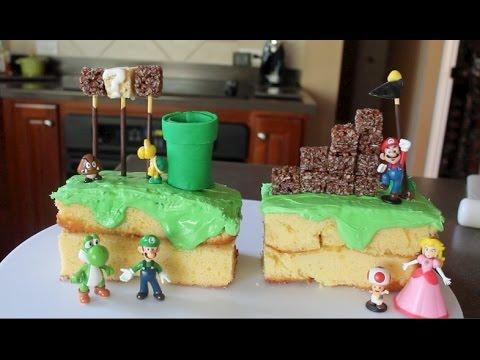 Super Mario Run Cake Tutorial/Recipe by Vanilla Essence