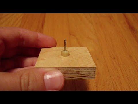 Tiny End-Burner Rocket Tooling + Rocket Motor Test