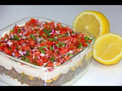 Multi Layer Taco Dip - Tasty Tuesday's | CaribbeanPot.com