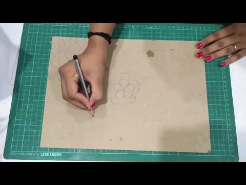 DIY Foil Paper Painting | Enjoy Crafting # 59