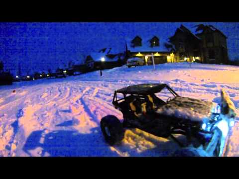 RC Action: Homemade Snow Plow: BEFORE LICENSE PLATE PLOW