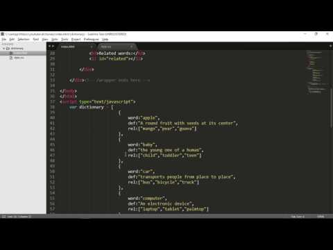 JavaScript beginners: Building a simple Dictionary Application part 2 of 2