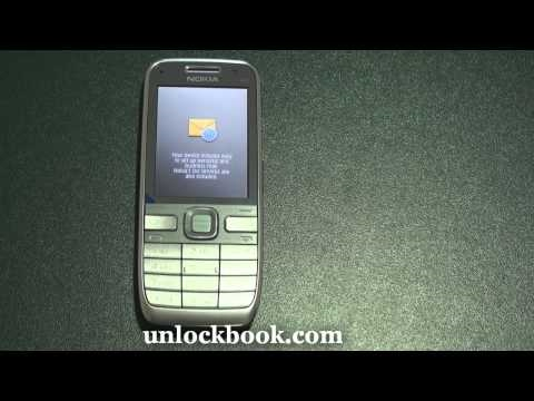 How to unlock Nokia E52 by code