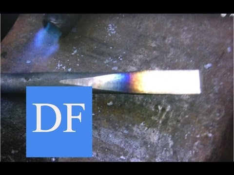 Blacksmithing for beginners:  Forging and Heat Treating Carbon Steel - 3
