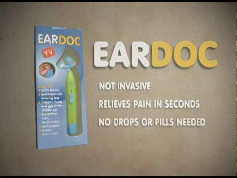 Eardoc treatment for ear infections