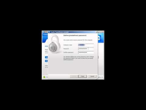 How to change Teamviewer predefined password