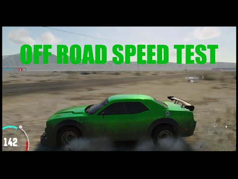 The Crew Off Road Speed Test