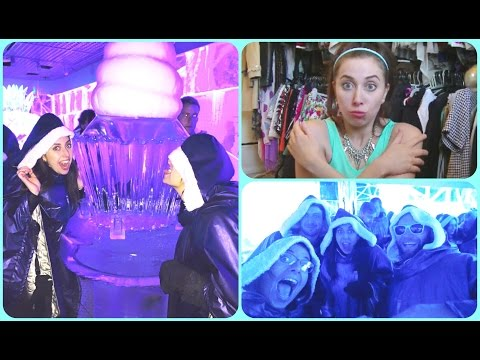 Getting Drunk at ICE BAR LONDON - UK Tourist Attraction Review  | FashionQuirks