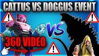 Fortnite | 360 Video | Mech vs Monster 4k 360 Fortnite VR Experience