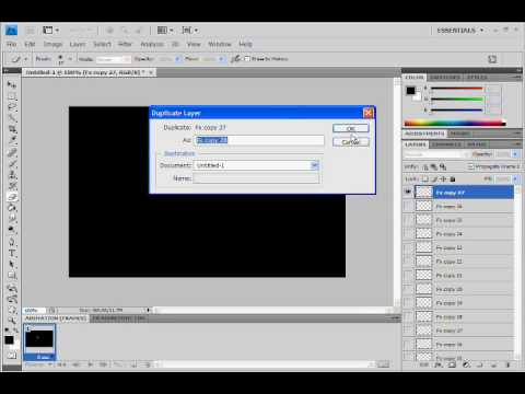 how to make animation in photoshop