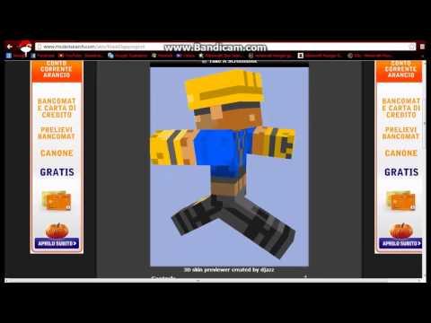 Come cambiare skin minecraft sp visibile in multiplayer e singleplayer!!